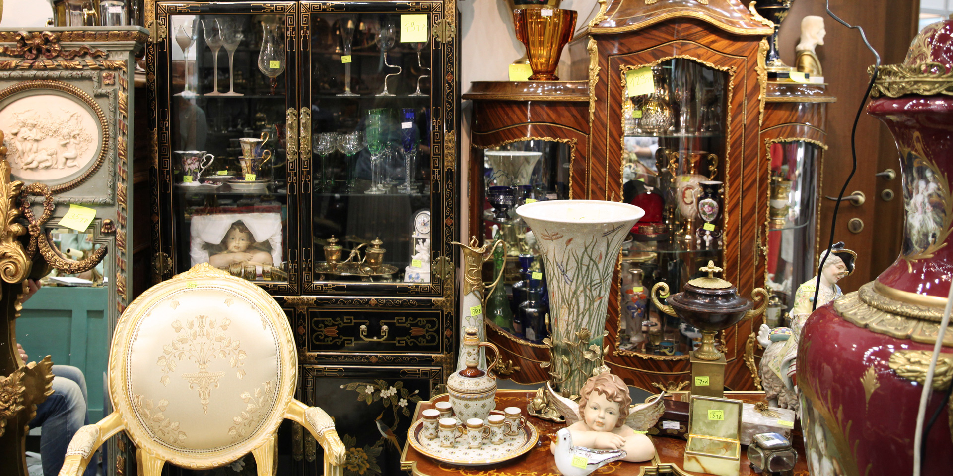 Antiques and flea markets